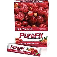 Purefit Nutrition Bar, Berry Almond Crunch, 2-Ounce Bar, (Pack of 15)