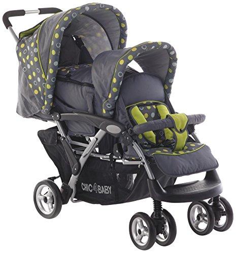 CHIC 4Baby Carrito Duo Incluye Baby Bolsa de transporte y de lluvia,...