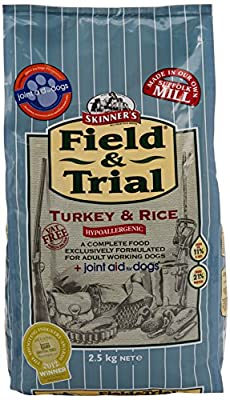 Skinners Field & Trial Turkey & Rice +Joint Aid Dog Food from Skinners