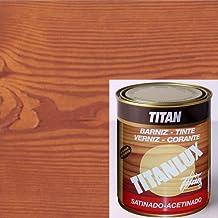TITAN - BARNIZ TINTE MADERA TECA 750ML