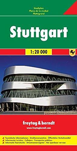 Stuttgart 1:20.000: Stadskaart 1:20 000 por Freytag-Berndt und Artaria KG