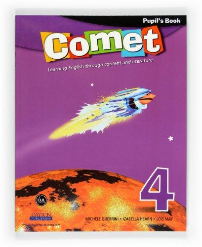 Comet 4. Primary. Pupil's Book - 9788467547078
