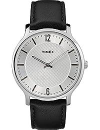 2d65029e2ba6 Timex Reloj Analógico para Unisex Adultos de Automático con Correa en Cuero  TW2R50000