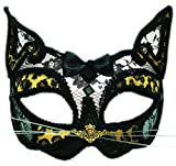 erdbeerclown- Erwachsenen Leopard Karneval Faschingsmaske Venezianische Maske, Mehrfarbig