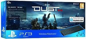 Sony PlayStation 3 Wireless Keyboard Plus Dust 514 PSN Voucher (PS3)