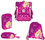 Target Square Set 4in1 Barbie BF Cartable, 38 cm, 12 liters, Rose (Rosa)