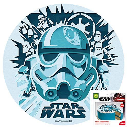 Tortenaufleger von Dekora Tortenbild Zuckerbild Oblate Lizenz Motiv: Star Wars