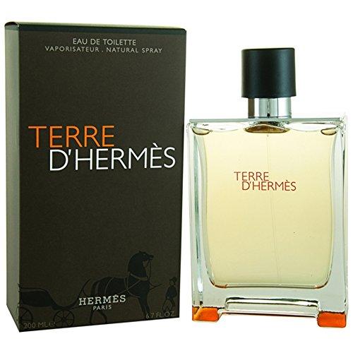 HERMES TERRE D'HERMES EAU DE TOILETTE, EDT 200 ML PROFUMO UOMO