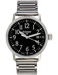 Traser H3 Reloj los Hombres Classic Basic Black 102375