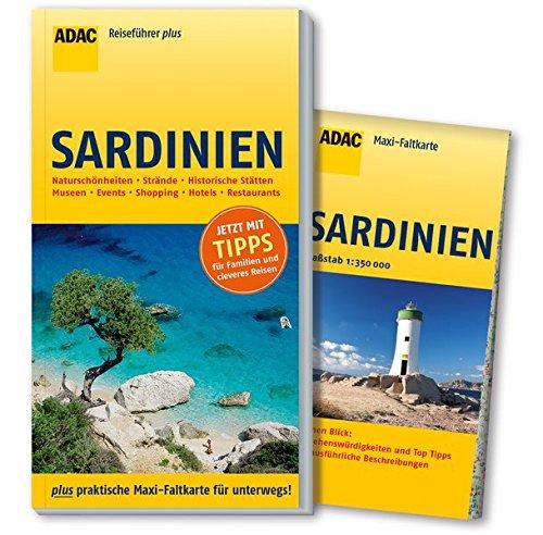 ADAC Reiseführer plus Sardinien: mit Maxi-Faltkarte zum Herausnehmen