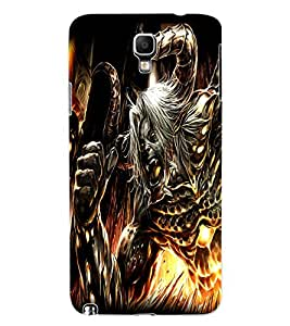 ColourCraft Demon Design Back Case Cover for SAMSUNG GALAXY NOTE 3 NEO N7505