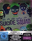 +++ NEU! STEELBOOK! SUICIDE SQUAD - 4K ULTRA HD + BLU-RAY - limited edition - Digital Ultraviolet +++