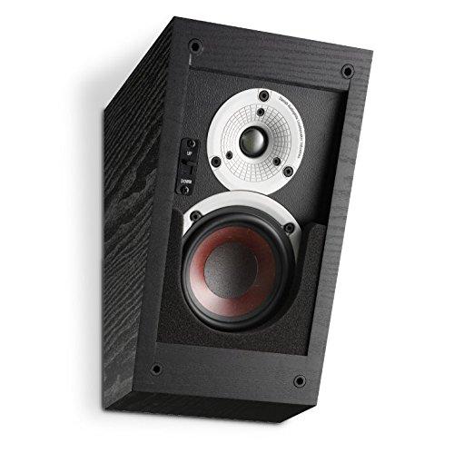 Dali Lautsprecher Alteco C-1 für Dolby Atmos Schwarz (Paar)