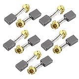 5par de repuesto para herramienta eléctrica Motor carbono Cepillos 16mm x 13mm x 7mm