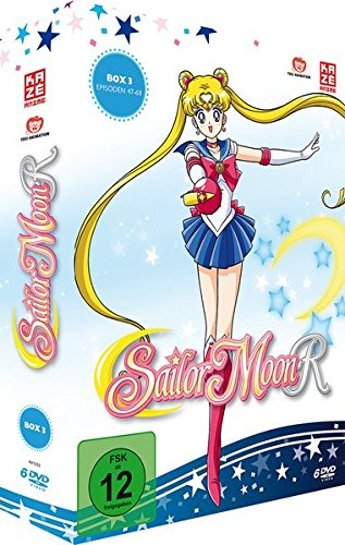 Sailor Moon R - Box Vol. 3 [6 DVDs] (Sailor Moon Staffel 1)