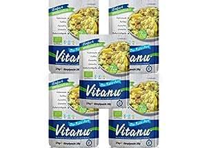Vitanu - Organic Shirataki Nudeln Reisersatz, 5er Pack (5 x 200g)