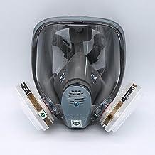 Para 6800SJL máscara de gas completa–protección para cara mascarilla 7piece traje con pintura