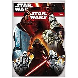Star Wars - Piñata Perfil para cumpleaños y celebraciones, 33 x 46 cm (Verbetena 014000861)