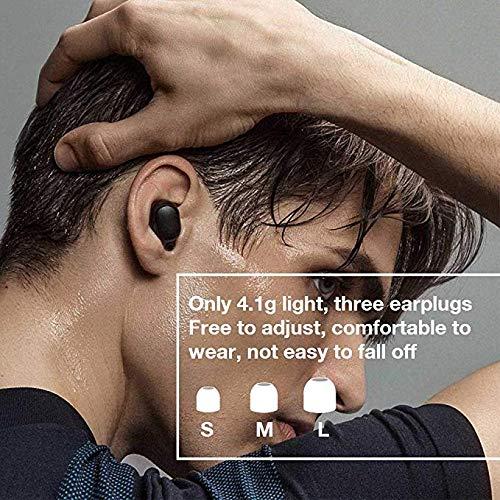 Xiaomi Redmi Airdots, TWS Wireless Bluetooth 5.0 Headphones Charging Box True Stereo Sound Wireless Bluetooth Headphones with Microphone Hands-Free Headphones AI Control black - 4