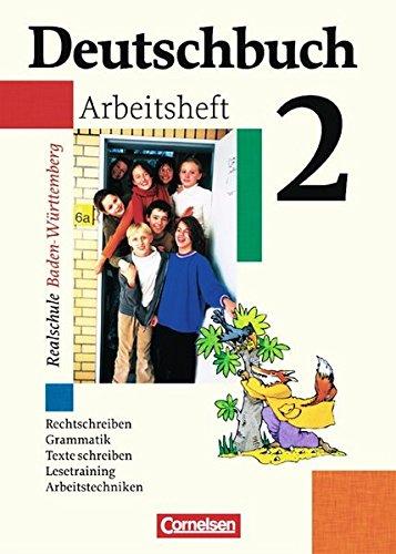 Deutschbuch 2. Arbeitsheft mit Lösungen., 2. Auflage Nachdr.