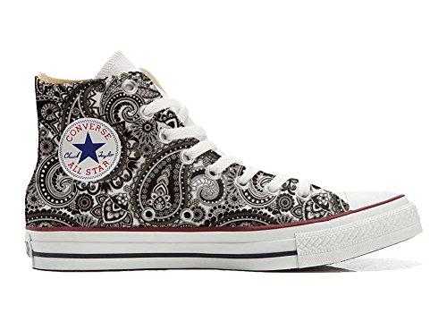 stomized - personalisierte Schuhe (Handwerk Produkt) Elegant Paisley Size 38 EU ()