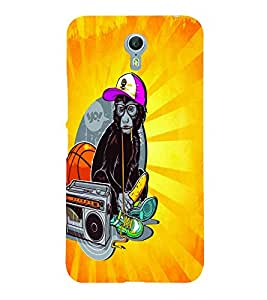 PrintVisa Cool Boy 3D Hard Polycarbonate Designer Back Case Cover for LENOVO ZUK Z2 PRO