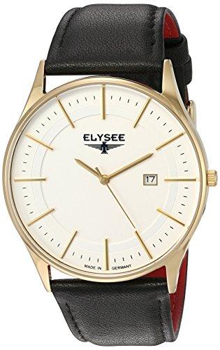 Elysee 83016L - Reloj de pulsera hombre, color Negro