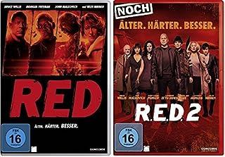 R.E.D. - Älter. Härter. Besser/R.E.D. 2 - Noch Älter. Härter. Besser im Set - Deutsche Originalware [2 DVDs]