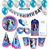ThemeHousePartyv Disney Frozen Birthday Party Combo