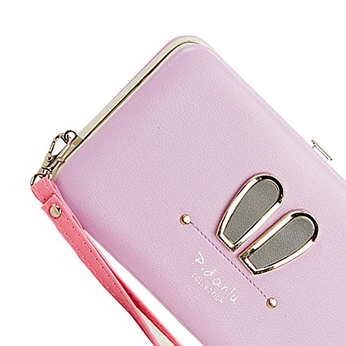 Portafogli da Donna Borsa con Diamante Bowknot Modello, Bonice Multifunzionale [Grande Capacità] Smartphone Wristlet Custodia Case Cover per Huawei Mate 9 / P10 / P10 Lite / P10 Plus / P9 / P9 Lite /  Elegant-Cover-28