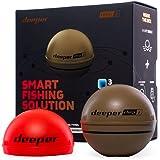 Deeper Chirp Plus Smart Sonar lanzable y buscador portátil de Peces WiFi para Kayaks,Barcos y carpfishing y Orilla,Red inalám