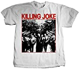 Stab & wound Killing Joke 'Pope' White T-Shirt