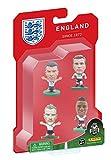 SOCCERSTARZ - 402934 - Paquet de 4 Joueurs de l'équipe d'Angleterre