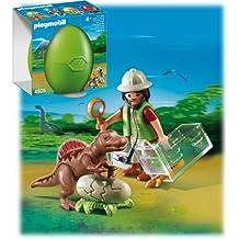 Playmobil - Huevo Científico Bebé Dinosau (4925)