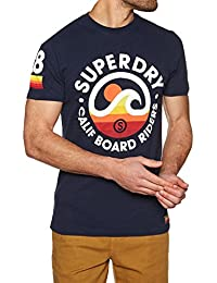 Superdry Camiseta M10007FQ NT9 Cali Surf Co Tee