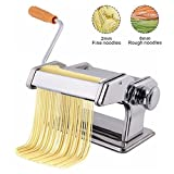 AZOD Pasta Maker Machine - Roller Cutter Noodle Makers Best for Homemade Noodles