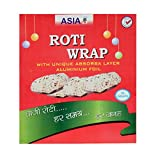 #5: 50 pcs Roti wrap aluminium cutting sheets with paper pack of 4 (Extra thickness)