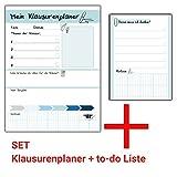 Klausurenplaner Vokabeltrainer Notizblock Schreibblock Klausur Lernhilfe Denkzettel Schule Studium...
