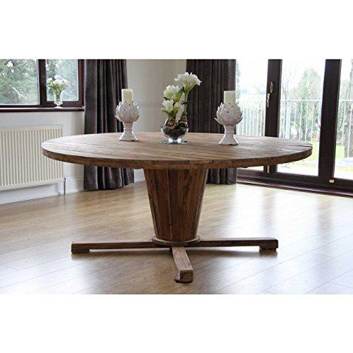 51YsI4HqedL. SS500  - Inspiring Furniture LTD Reclaimed Teak Garden Character Table 1.8m Natural Kubu Wicker Zorro Dining Chairs