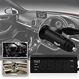 Dynamovolition Auto 3 in 1 12 V / 24 V Digitale Auto Auto Termometro + Auto Voltmetro Tester del Tester del Tester Monitor + Display LCD Orologio Vendita Calda