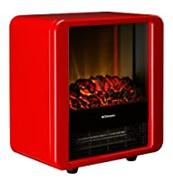 Dimplex 1.5 KW Optiflame Electric Micro Fire in High Gloss - Black