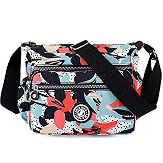 ABLE Anti Splash Water Shoulder Bag Casual Messenger Crossbody Bags (4-callas)