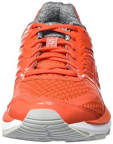 Asics Gt-2000 5, Chaussures de Running Compétition Homme Rose (Orange/mid Grey/white)