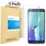 Galaxy S6 Edge Plus Schutzfolie, PULESEN® [3 Stück] [Nicht für S6 Edge] Samsung Galaxy S6 Edge Plus Folie [HD Klare, 99% Transparenz] Screen Protector für Galaxy S6 Edge Plus Displayschutzfolie