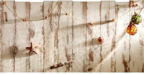 Plage Bed, HEADBOARD Sticker-Aufkleber für Bett-Kopfteil Terre Neuve [60 x 160 cm], Acryl, Wood, 160x0,02x59 cm
