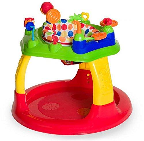 Hauck Spielcenter Play-A-Round ab 6 Monate, höhenverstellbar, große Spielstation, bunt (Dots)