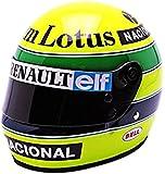 Mini Helmet - 70010200 - Véhicule Miniature - Modèles À L'échelle - Casques A. Senna - Lotus 1985 - Echelle 1/2