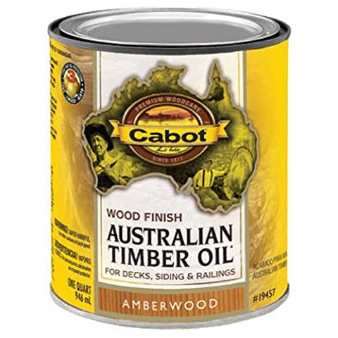 CABOT SAMUEL INC - Amberwood Australian Timber Oil Wood Stain