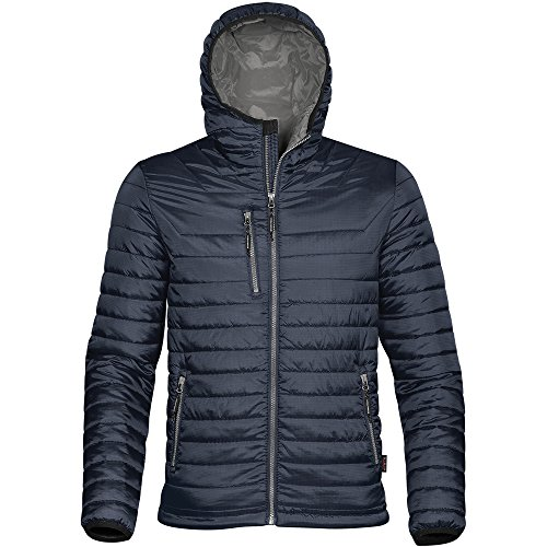 Stormtech Mens Gravity Two Tone Thermal Shell Jacket Navy/ Charcoal