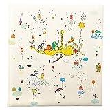 Goldbuch Babyalbum, Baby on Tour, 30 x 31 cm, 60 weiße Blankoseiten mit 4 illustrierten Seiten und Pergamin-Trennblättern, Kunstdruck mit Silberprägung und Relief, Weiß, 15270